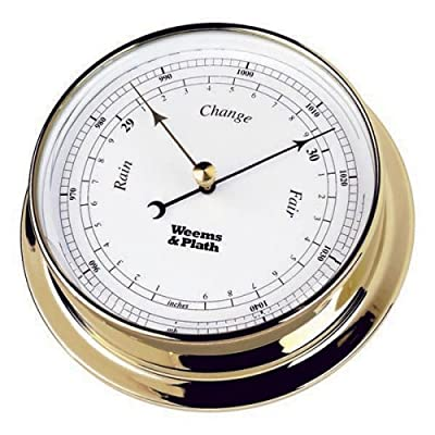Weems & Plath Endurance Collection 125 Barometer (Chrome) by Weems & Plath