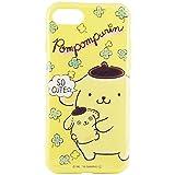 グルマンディーズ ポムポムプリン iPhone7対応ソフトケース アップ san-625a