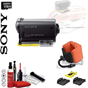 Sony POV HD 1080p Wearable Camera with Carl Zeiss Lens and WiFi, GPS & NFC HDR-AS30V (16GB)