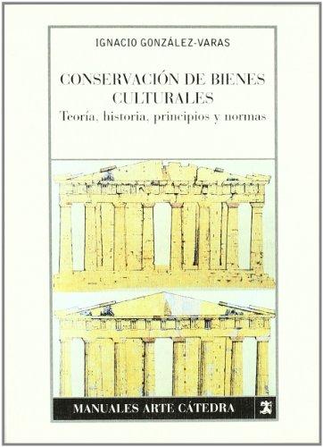 CONSERVACION DE BIENES CULTURALES