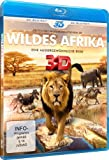 Image de Wildes Afrika 3d [Blu-ray] [Import allemand]