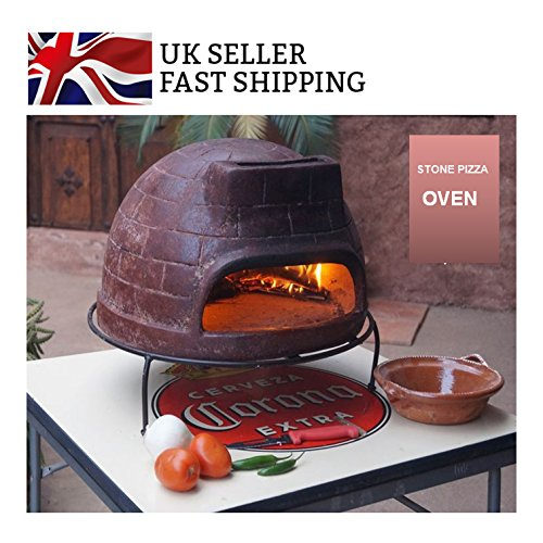 Classic Garden Outdoor Wood Fired Pizza Ovens - Stone Baked BBQ Barbecue