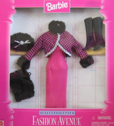 Barbie Internationale Fashion Avenue WINTER Vacation Fashions Collection (1996)