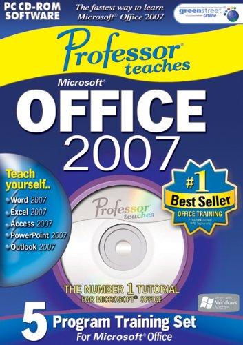 Professor Teaches Office 2007 Training Suite