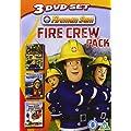 Fireman Sam: Fire Crew Pack (Pontypandy Gone Wild/Hero At Sea/Brave To The Core) [DVD]