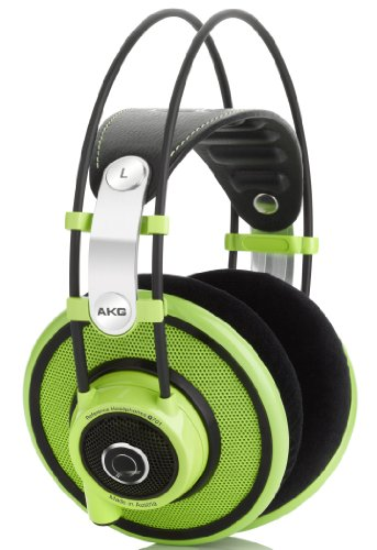AKG Q701 Quincy Jones Reference Class Premium Headphones - Green