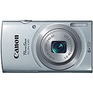 Canon PowerShot ELPH135 Digital Camera (Silver)