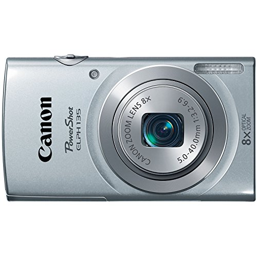 Best Price Canon PowerShot ELPH135 Digital Camera (Silver) (Discontinued by Manufacturer)