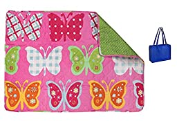 Reversible Butterfly Quilt 32\