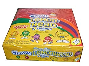Ferrara Pan Chewy Lemonhead and Friends Candy 24 Count