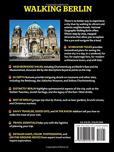 National Geographic Walking Berlin: The Best of the City (Step By Step Guide)