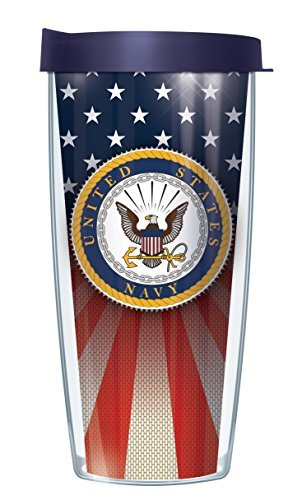 us-navy-emblem-on-flag-traveler-16-oz-tumbler-cup-with-navy-lid-by-signature-tumblers