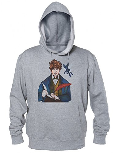 Fantastic Beasts and Where to Find Them Movie Character Newt Scamander Men's Hoodie Small