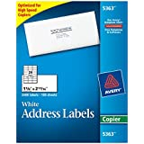 Avery White Copier Mailing Labels (AVE5363)