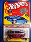 HOT WHEELS RED LINE CLUB EXCLUSIVE NEO-CLASSICS SERIES 7 CUSTOM PINK VW VOLKSWAGEN DELUXE STATION WAGON 4/6