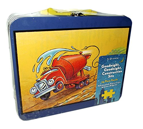 Goodnight, Goodnight Construction Site Cement Mixer 24 Piece Puzzle - 1