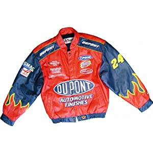 Jeff Gordon Unsigned Authentic Leather Jacket by Hollywood Collectibles