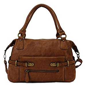 Scarleton Vintage Satchel H116904 - Brown