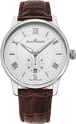 alexander-statesman-regalia-wrist-watch-for-men-brown-leather-stainless-steel-analog-swiss-watch-sil