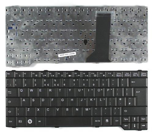 """Keyboards4Laptops Fujitsu Siemens Amilo Sa 3650 15.4"""" Schwarz Vereinigtes Königreich kompatible Ersatz tastatur"""