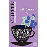 Clipper Organic Wild Berry Tea 20 Tea Bags 60g - CLIP-4664