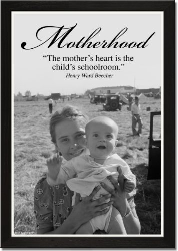 Framed Art Poster 20x30, Motherhood