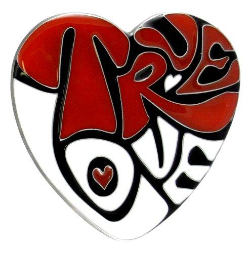Heart Shaped True Love Belt Buckle