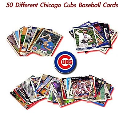 50 card set of Chicago Cubs including stars covering the past 30 years