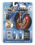 Street FX 1042198 Tire Technix Moto Hex Blue Light