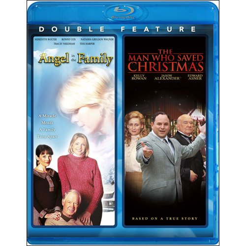 Cover art for  Angel in the Family / Man Who Saved Christmas [Blu-ray]