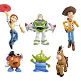 NEW COLLECTION FIGURES 6 PCS TOY STORY BUZZ LIGHTYEAR WOODY JESSIE
