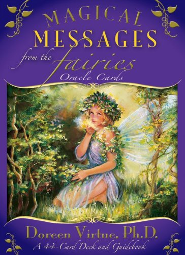 Magical Messages From The Fairies Oracle Cards - マジカルフェアリーオラクルカード日本語版説明書付