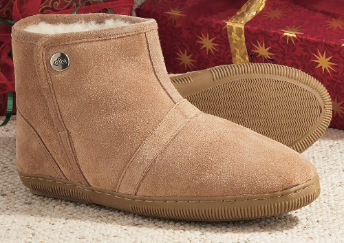 Cheap Women's Lamo® Short Boot Slippers Tan (B000YRYFA0)