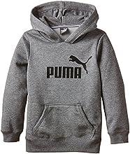 Puma Ess Sweat-shirt à capuche Garçon Medium Gray Heather FR : 12 ans (Taille Fabricant : 152)