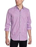 Stone Rose Men's Check Woven Shirt