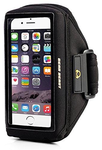 Gear Caso Beast compatibile [Otterbox, Lifeproof, Speck, Other] Sport bracciale della palestra di funzionamento per iPhone 6s, 6, Galaxy S7, S6, S6 bordo, S5, Motorola Moto G, Moto E, Moto X, Droid Maxx, Droid Turbo, Altro