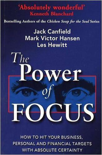 The Power of Focus - Jack Canfield, Mark Victor Hansen, Les Hewitt (shailab)