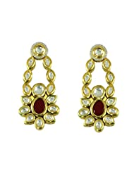 BGS Style Diva Gold Plated Metal Earring For Women - B00L2EJ8TM