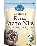 Viva Labs Organic Raw Cacao Nibs, 1 lb/16 oz