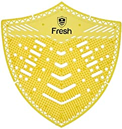 The Original Fresh Shield 10-pack (Fresh Mango) - Urinal Screens Deodorizer and Splash Guard