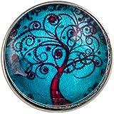 Morella Damen Click-Button Wunder Baum türkis