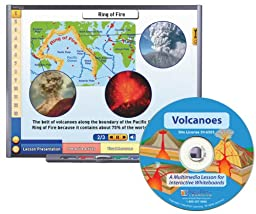 NewPath Learning Volcanoes Multimedia Lesson, Single User License, Grade 6-10