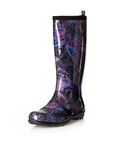 Kamik Women's Kelsey Rain Boot  - Charcoal