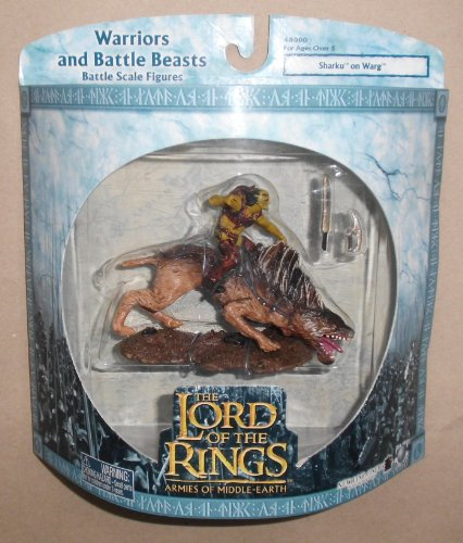 Lord of the Rings - Warriors and Battle Beasts - SHARKU ON WARG