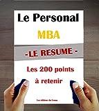 img - for Le Personal MBA de Josh Kaufman : Le r sum  en 200 id es   retenir (French Edition) book / textbook / text book