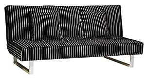 Dorel Home Products 3162096 Sophie Revolution Convertible Sleeper Futon, Black and White Stripe