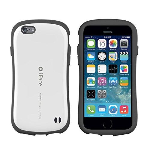 iFace First Class iPhone 6 / iPhone 6s ケース ストラップホール付き ホワイト