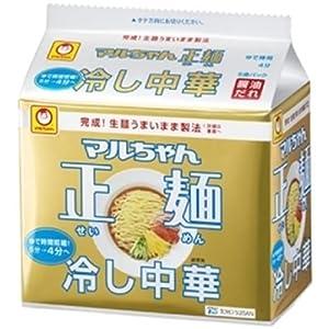 マルちゃん 正麺冷し中華 5食パック