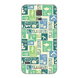 Designer Cute Phone Cover / Case for Samsung S5 - Yoga