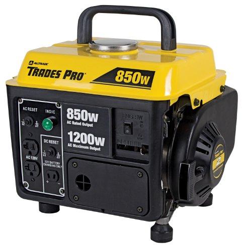 Tradespro 836758 Generator 850 Watt 1200 Watt Portable
